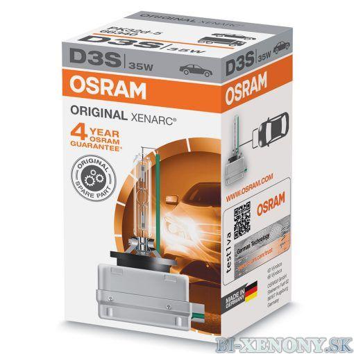 Osram xenonová výbojka D3S 35W XENARC ORIGINAL