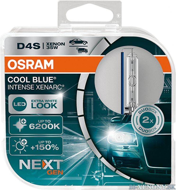 Osram xenonová výbojka D4S XENARC Cool Blue Intense NextGeneration 6200K BOX