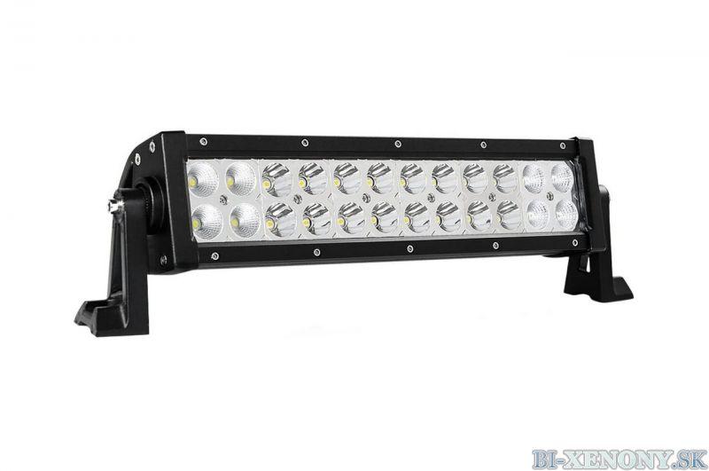 Panelové pracovné svetlo 24LED 402x82 72W COMBO 9-36V AWL23