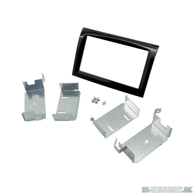 Plastový rámik 2DIN, Fiat, Peugeot, Citroen PF-1516 3
