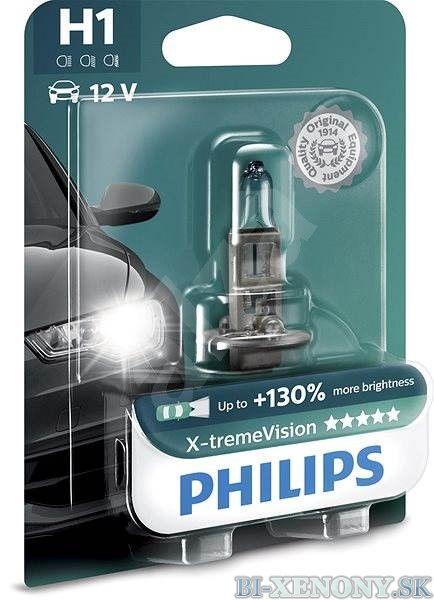 Philips 12V H1 X-treme Vision +130% 1ks