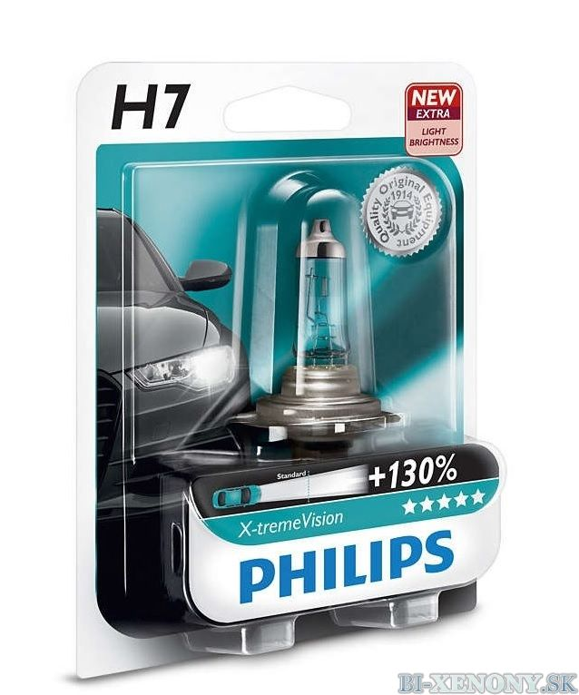 Philips 12V H7 X-treme Vision +130% 1ks
