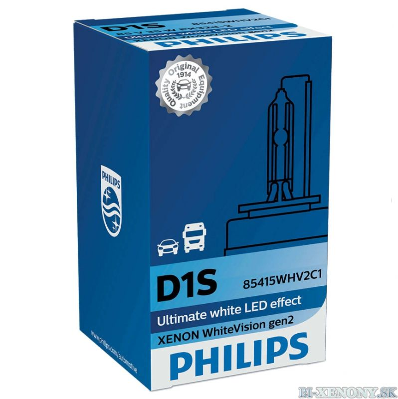 PHILIPS D1S 35W PK32d-2 Xenon WhiteVision