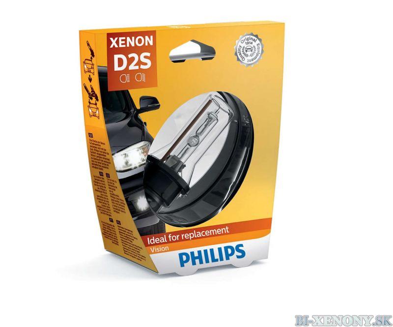 PHILIPS D2S 35W P32d-2 Vision 001
