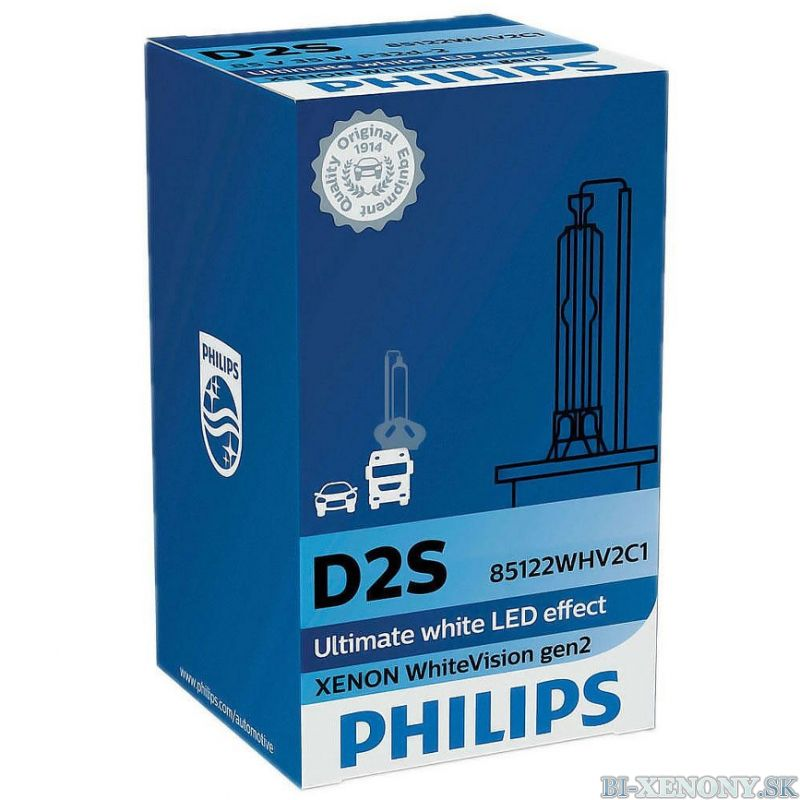 PHILIPS D2S 35W P32d-2 Xenon WhiteVision