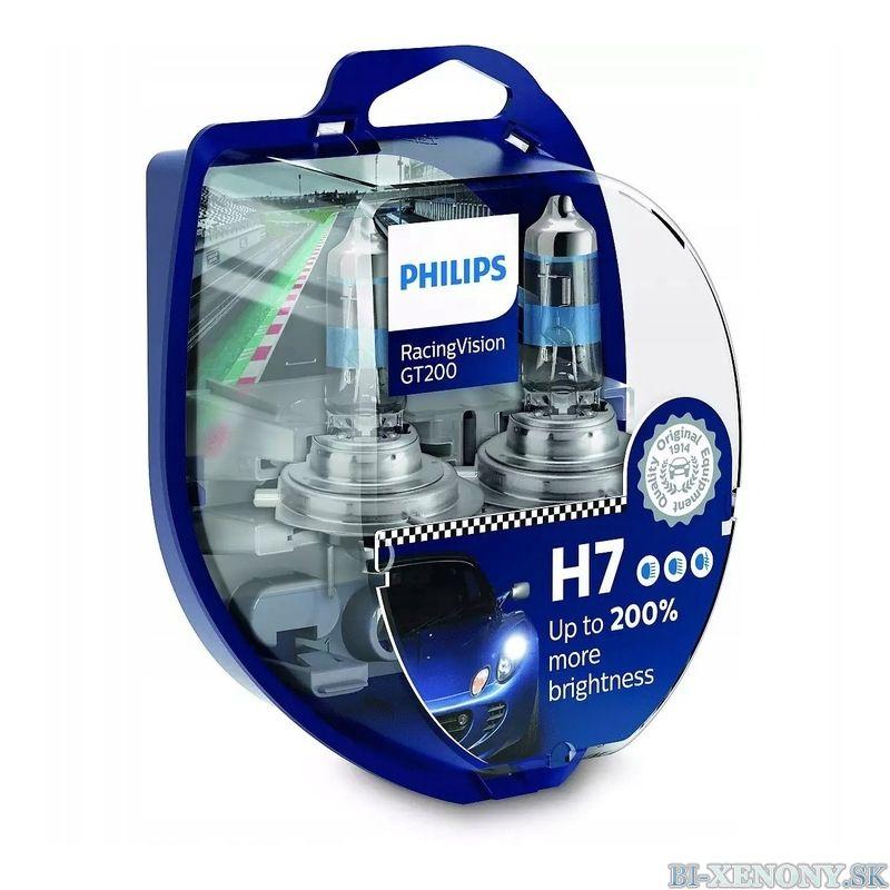 Philips RacingVision H7 GT200 +200% 12972RGTS2 BOX 2ks