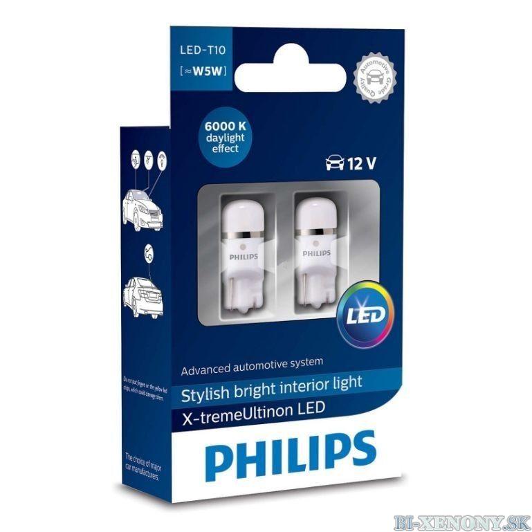 PHILIPS W5W 12V 1W X-tremeVision LED 6000K