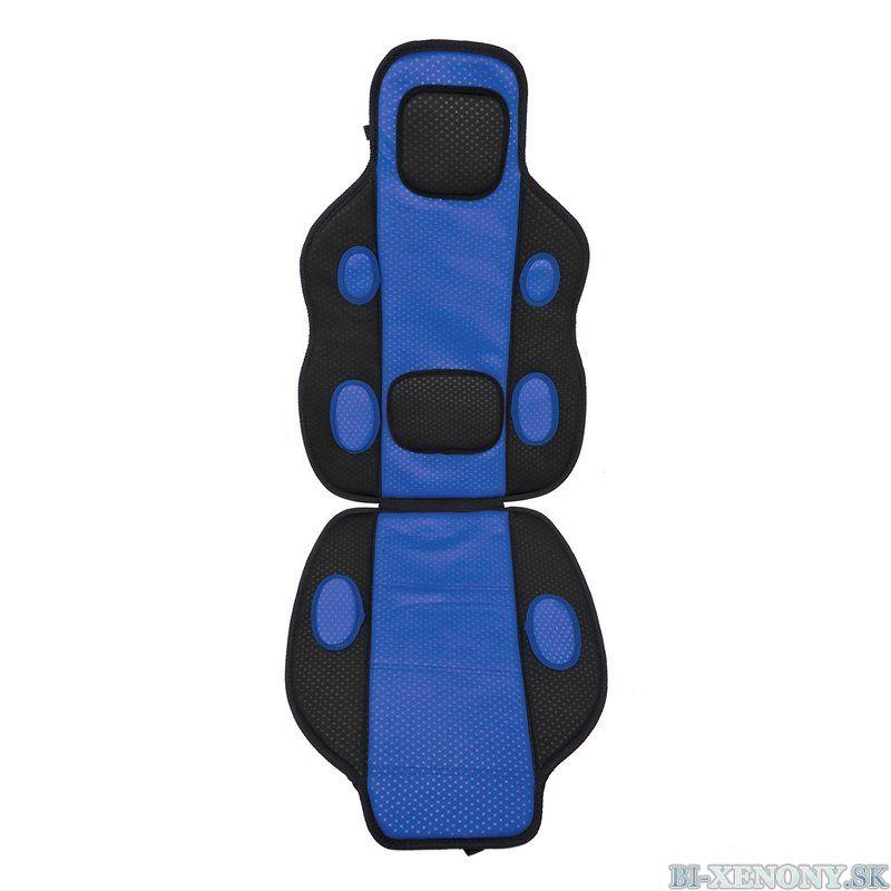 poťah sedadla modrý