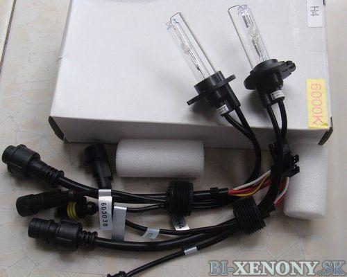 Projekčná xenonová výbojka H4