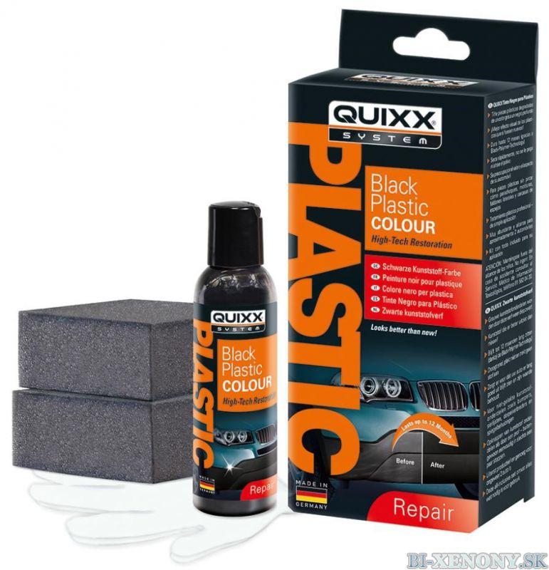 Quixx – Black Plastic Colour – čiernidlo na plasty