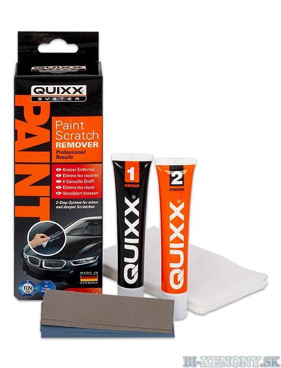 Quixx - odstraňovač škrabancov z laku 2x25g / Paint Scratch Remover