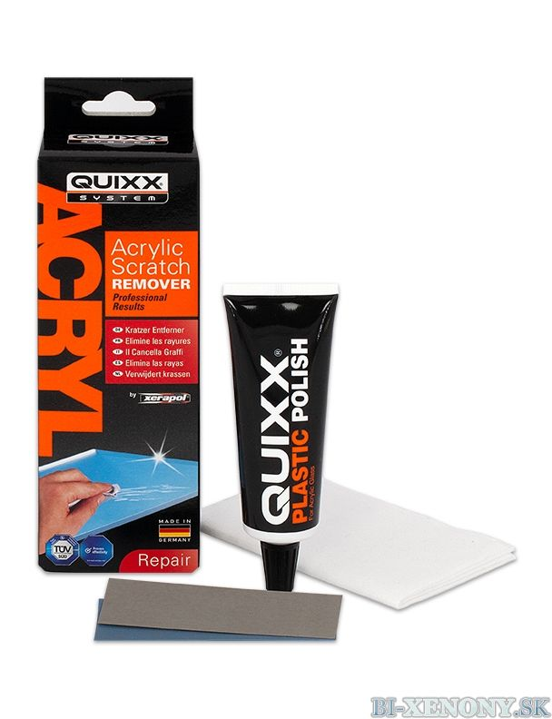 Quixx - Odstraňovač škrabancov z plexiskla 50g / Acrylic Scratch Remover – Xerapol