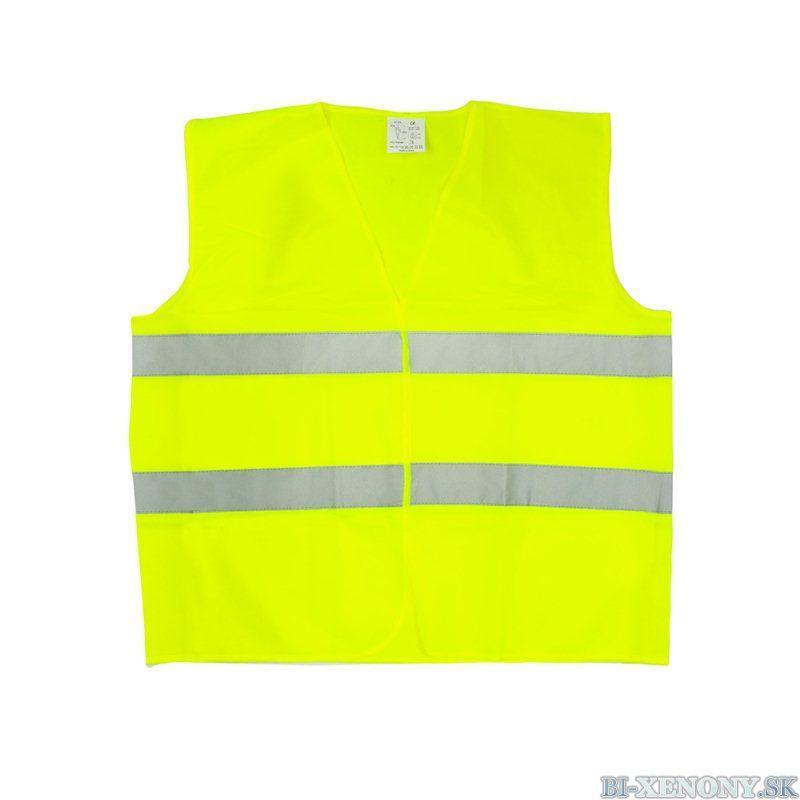 reflexná vesta žltá