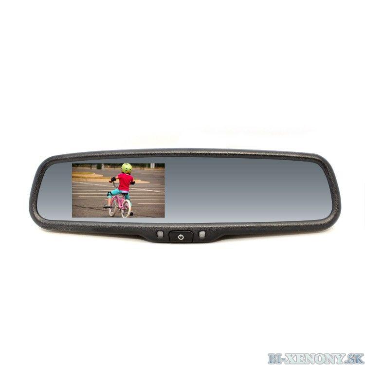 Spätné zrkadlo s LCD displejom, so stmievaním, Renault RM LCD-A REN