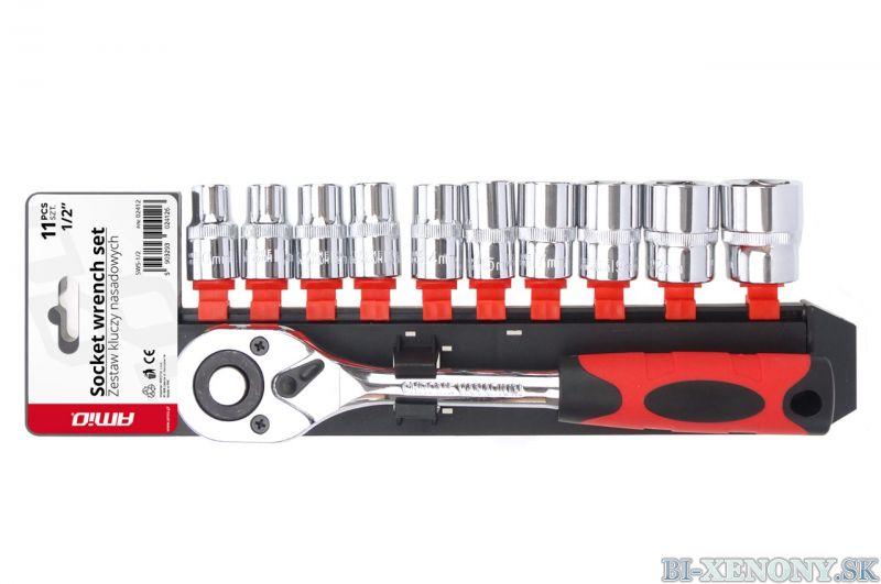 """Sada nástrčných kľúčov 11 ks 1/2 """"10-24 mm"""