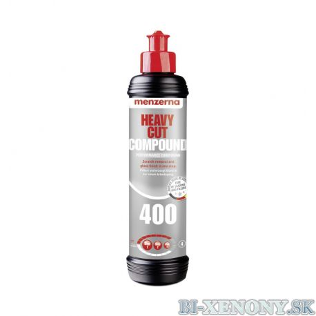 Silná brúsna pasta Menzerna Heavy Cut Compound 400 250ml