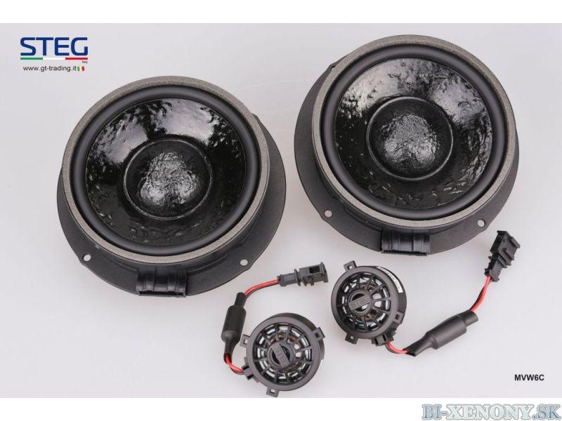 STEG MVW6C reproduktory pre Volkswagen 17cm