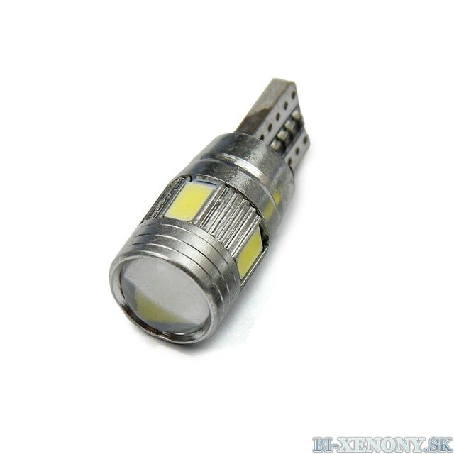 T10 6SMD CREE LED 5630 CANBUS