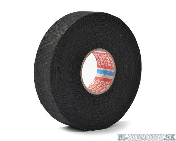 Tesa textilná lepiaca páska 25mm X 25m - čierna