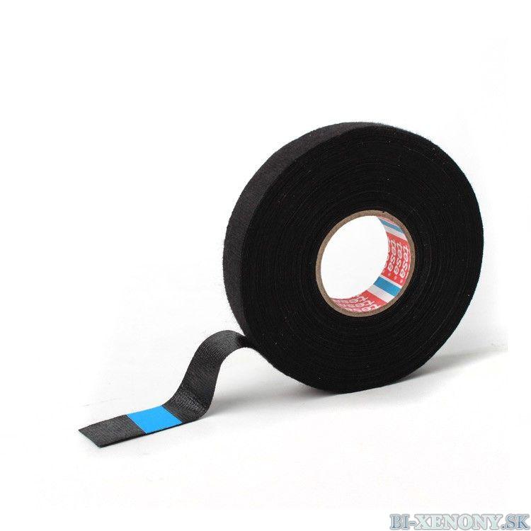 Textilná izolačná páska hladká TESA 25x19