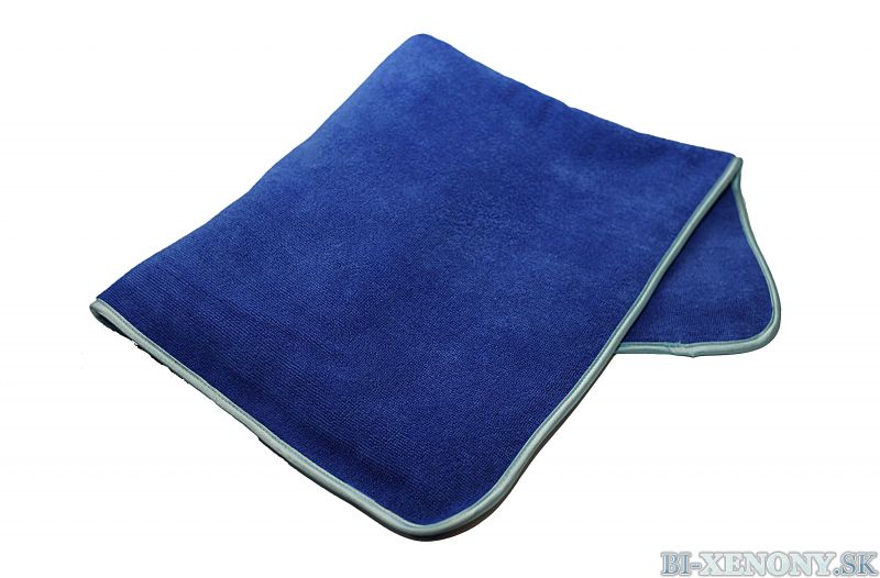 TK Large Blue Fluffer - TuningKingz sušiaci uterák
