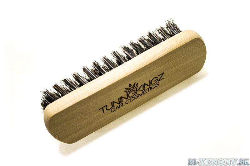 TK Leather/upholstery Brush - TuningKingz kefa pre čalúnenie a kožu