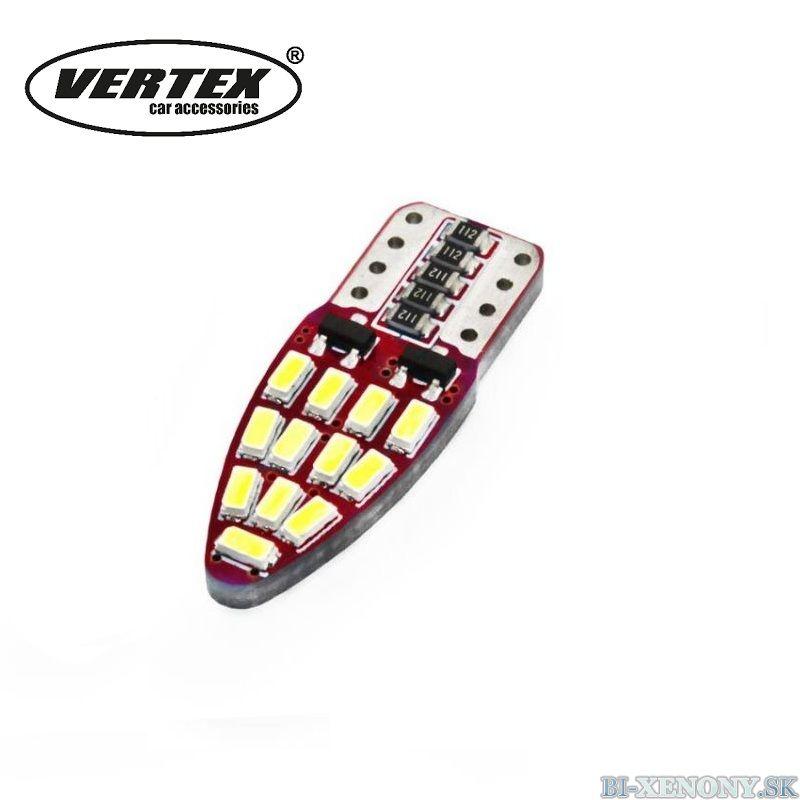 VERTEX T10 W5W 24SMD 3014 CANBUS