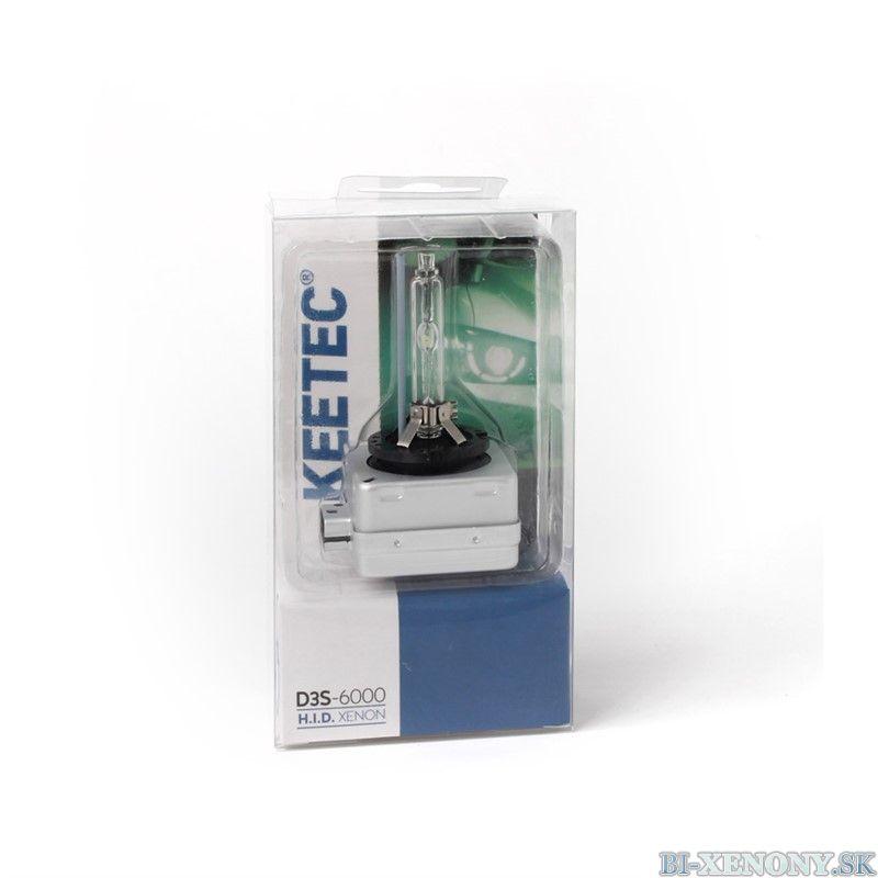 Xenónová výbojka KEETEC V D3S-6000