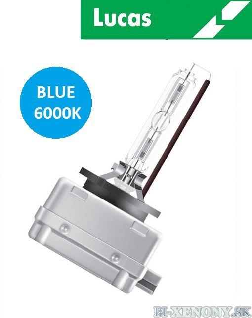 Xenónová výbojka LUCAS D1S Blue 6000K