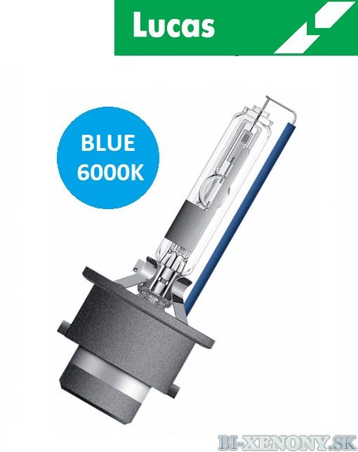 Xenónová výbojka LUCAS D2R Blue 6000K