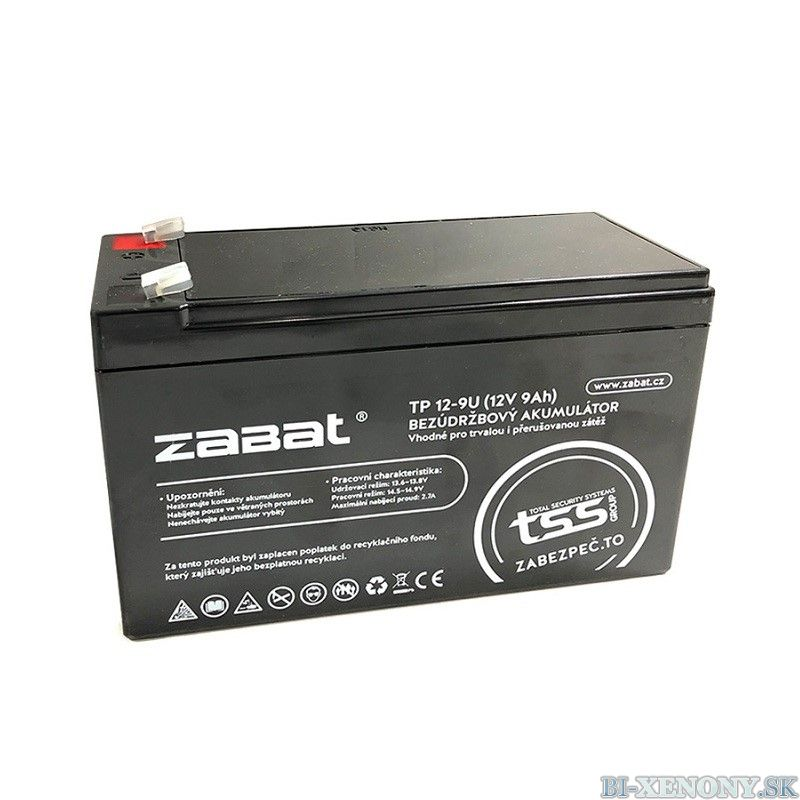 Zabat TP 12-9U akumulátor