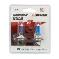 4CARS Halogénová žiarovka H7 Xenon Mega White 2ks