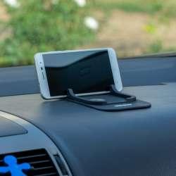 4CARS Protišmyková podložka s držiakom na mobil