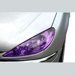 fólia na svetlá fialová detail