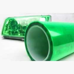 Ochranná fólia - svetlo zelená