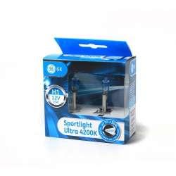 GE Halogénová žiarovka Sportlight Ultra +30%, H1, 4200K, 2ks
