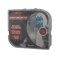 H15 Halogénová žiarovka NIGHT UNLIMITED 4300K BOX
