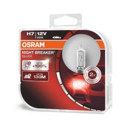 H7 OSRAM Night Breaker Silver +100% BOX 2ks