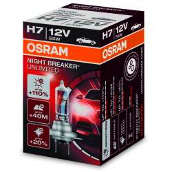 H7 OSRAM  Night Breaker Unlimited 1ks