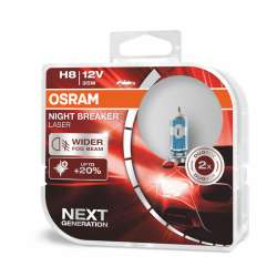 H8 OSRAM  Night Breaker Laser +150% BOX 2ks