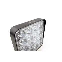 LED pracovné svetlo 16LED 110x110 48W FLAT 9-36V AWL10