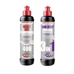 Leštiace pasty Menzerna 400 a One Step Polish 3in1 250ml