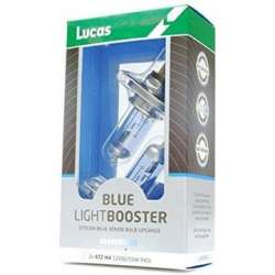 LUCAS Blue Light Booster H4 P43t 12V 60/55W