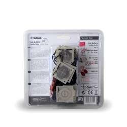 Ultrazvukový odpudzovač s vysokonapäťovými plochami a LED M540