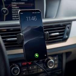 Držiak telefónu do ventilácie s bezdrôtovým nabíjaním Neoline Qi C2