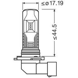 Osram 9745CW LEDriving FOG LED hmlové svetlo H10