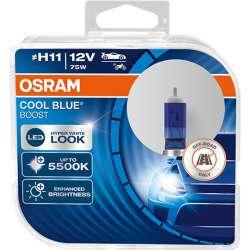 Osram Cool Blue Boost H11 12V 80W 62211CBB-HCB - 2KS