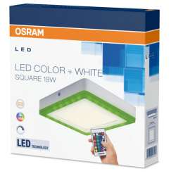 Osram LED COLOR WHITE SQ 200mm 19W