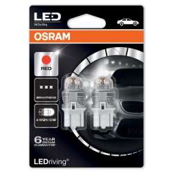 Osram LEDriving Premium 7915R-02B W21/5W Červená