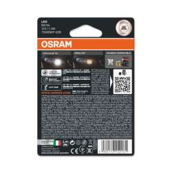 Osram LEDriving SL 7506DWP-02B 12V 1,4W BA15S 6000K P21W